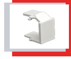 Snap-in plug, snapped inwards